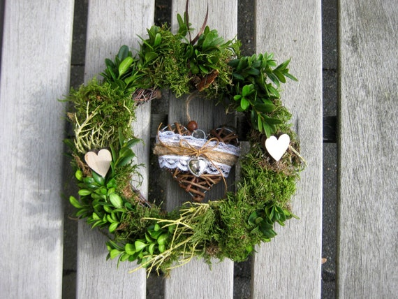winter autumn gift idea vintage Noble interior and exterior decoration country house felt spring wreath summer country house spring shabby