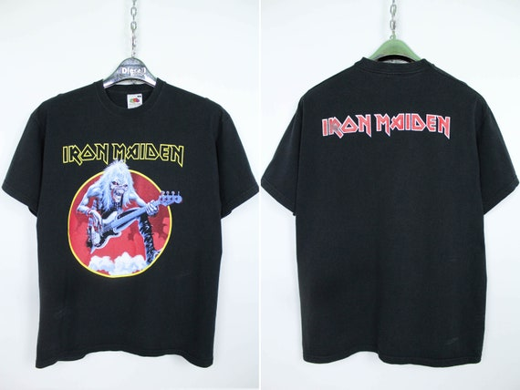 Iron Maiden Fruit of the Loom Rare Vintage Merch B
