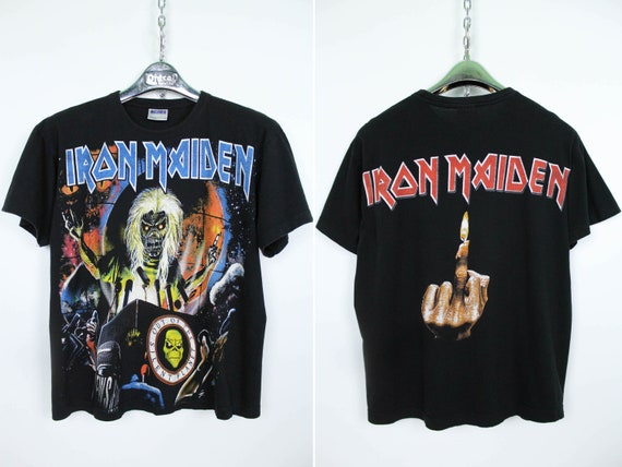 "Iron Maiden ""Out Of The Silent Planet"" Rare Vintag"