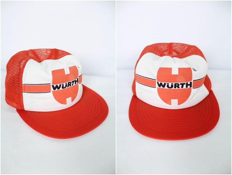 Wurth Rare Vintage Trucker Cap Hat One size adjustable