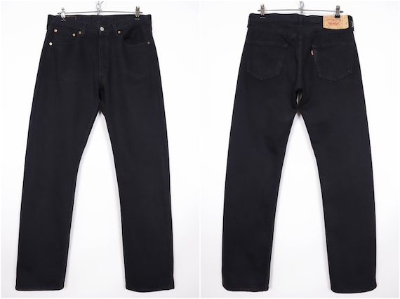 Levi's 501 Vintage Black Denim Jeans