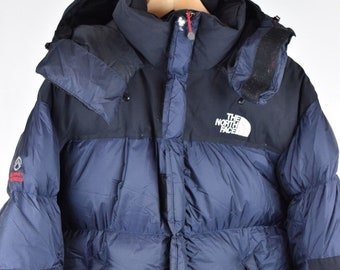 ... release date mens north face summit series 700 down blue m size medium  vintage puffer jacket edb30be28