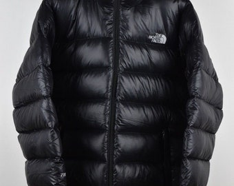 Mens North Face Black 700 Down L Size LARGE Puffer Coat Great Vintage  Condition. 6929fbf33