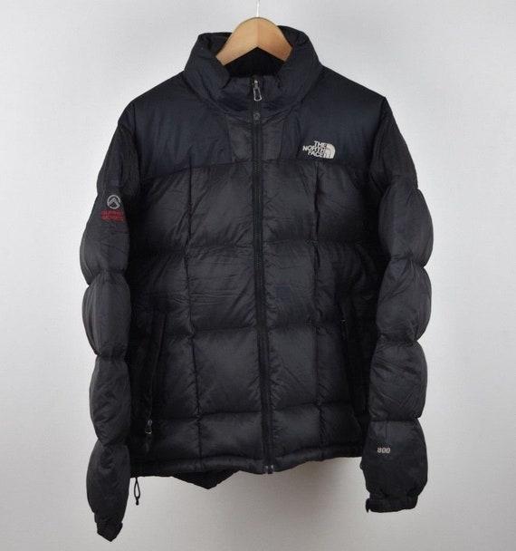 Mens Black North Face 800 Down M Size Medium Puffer Coat Etsy