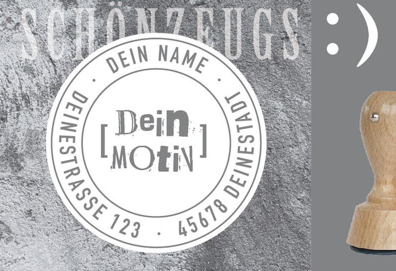 Stamp Own motif Logo : Personalized image 0