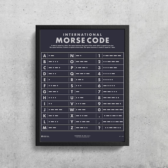 It is a picture of Printable Morse Code Chart for different kind cipher pdf