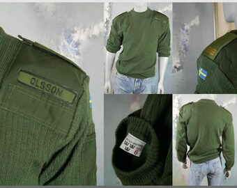 10e3a0cd20 Swedish Military Sweater
