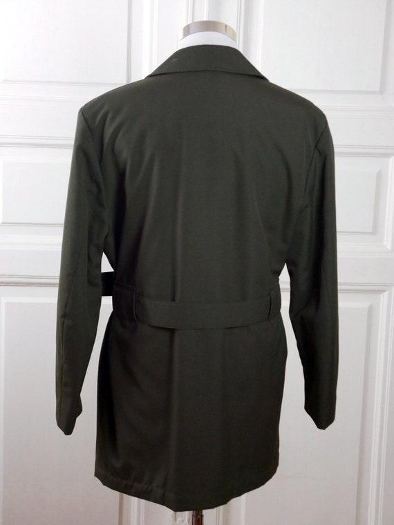 ... Veste militaire militaire Veste européen, l armée vert manteau kaki,  fabriqué en Finlande ... 3f7633f98ad