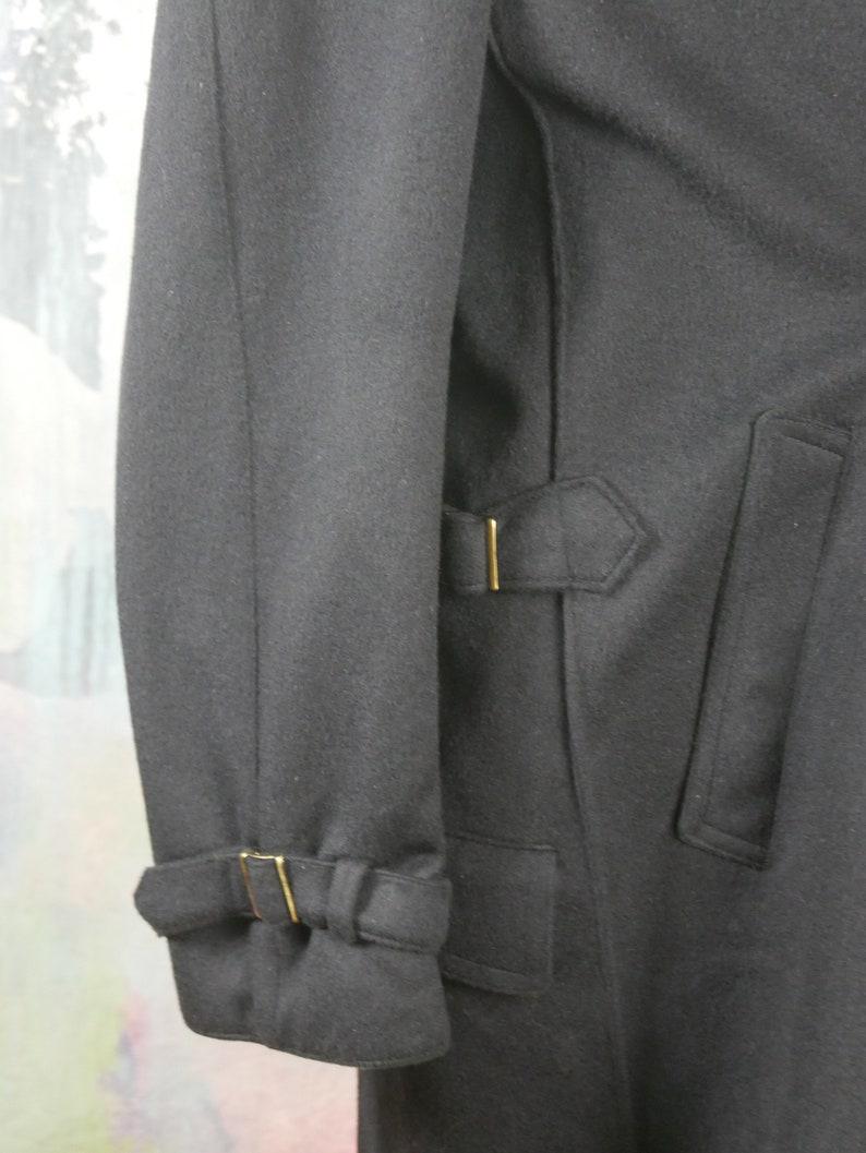 50 USUK Loden Wool Coat Size XXXL Dark Navy Blue Austrian Vintage Men/'s Winter Retro Overcoat