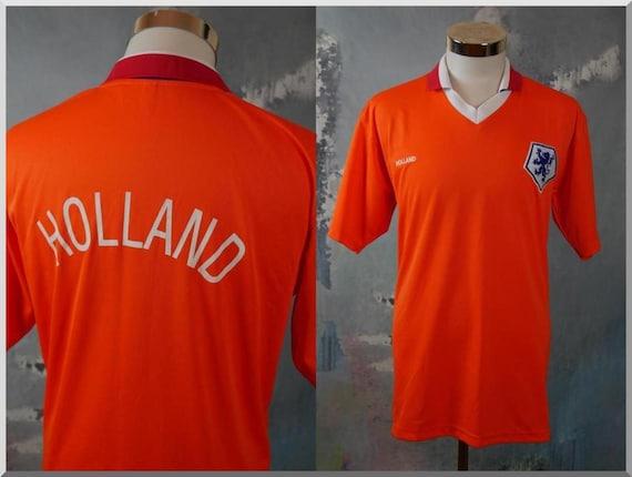 Holland Collared Sports T-Shirt, 1990s Dutch Vinta