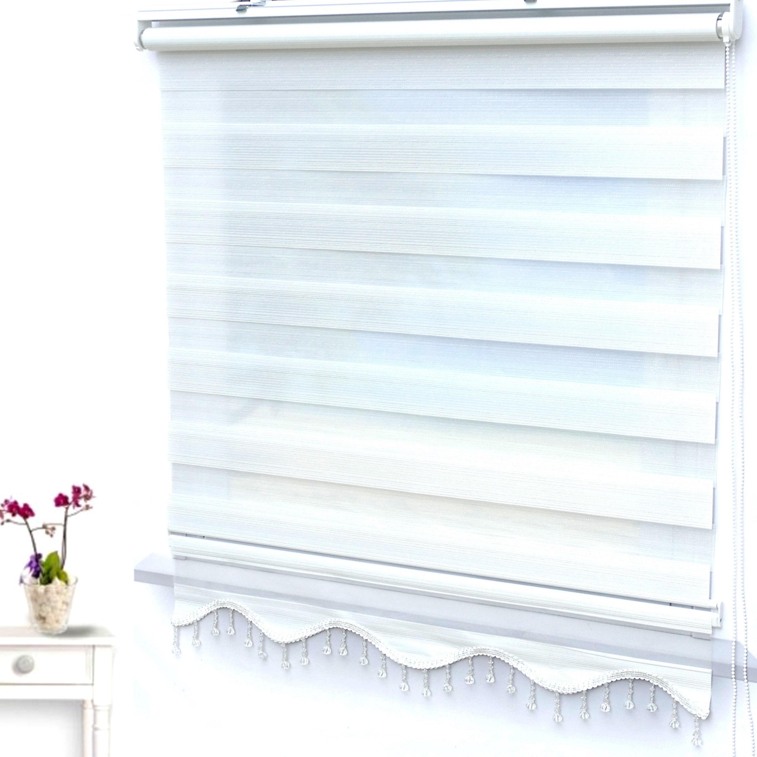 erstaunlicher Preis herausragende Eigenschaften tolle sorten Double Roller Duorollo Zebra Rollo Window Blind Curtains ...