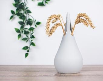 Droplet Vase   Modern Home Décor   Flower Decoration   3D Printed   Sawford Design Studio