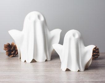 Model Ghost Figure   Cute Spooky Ornament   Halloween Decor   3D Printing   Sawford Design Studio