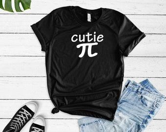 1716cd91 Cutie Pi Shirt - Cute Nerdy Girl Shirt - Cutie Pie Shirt - Funny Girl Shirt  - Cute Girl Shirt - Cute Quote Shirt - Cute Math T-Shirt