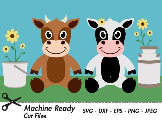 Cute Cow Svg Cut Files Png Cattle Clipart Farm Animal Clip Art Vector Cow Face Cow Head Printable Ranch Livestock Graphic Heifer Bull
