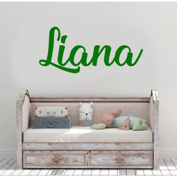 custom baby name decal / nursery wall decal / custom name | etsy