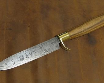 "Outdoor/Hunting Knives ""ken-Nata"" Damascus steel"