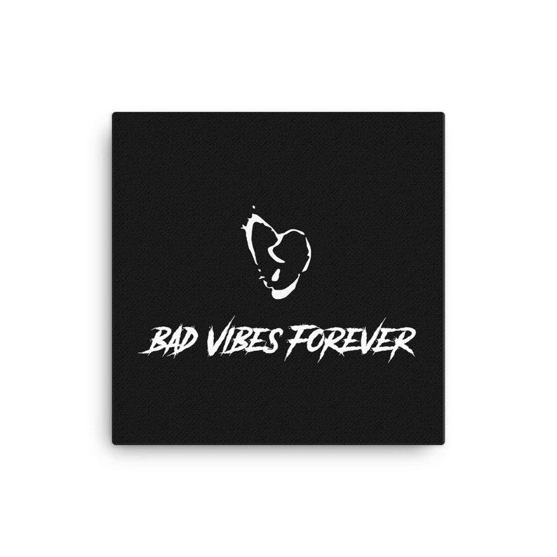 XXXTentacion Bad Vibes Forever Canvas (RIP X)