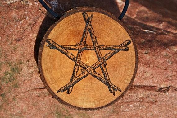 27 Pentagramm Drudenfuß Satan Luzifer Magie Bronze Hexe Nr