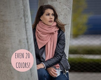 Large cashmere wrap, luxury merino wool knit blanket scarf, soft kashmiri shawl, autumn winter warm oversized scarf
