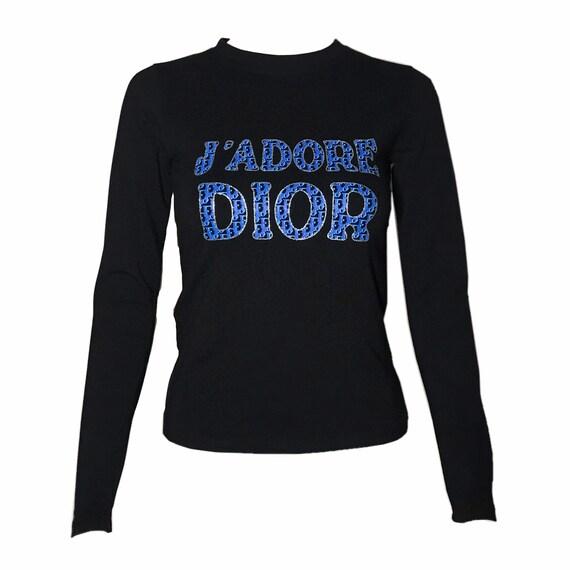 DIOR J'adore Dior Vintage Monogram Top