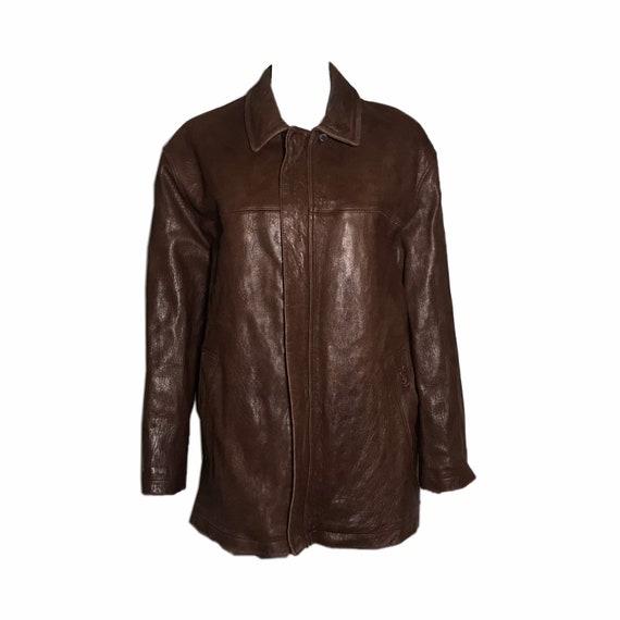 YSL Vintage Leather Jacket