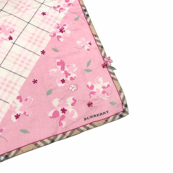 BURBERRY Vintage Cherry Blossom Handpocket Scarf