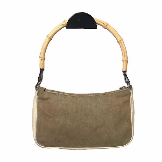GUCCI Vintage Bamboo Handle Shoulder Bag - image 9