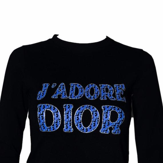 DIOR J'adore Dior Vintage Monogram Top - image 2