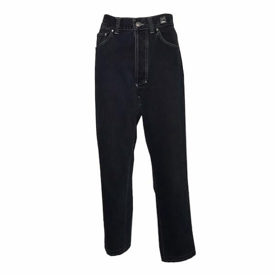 VERSACE Vintage High-waisted Denim Jeans