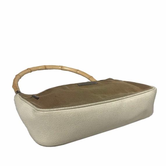 GUCCI Vintage Bamboo Handle Shoulder Bag - image 5