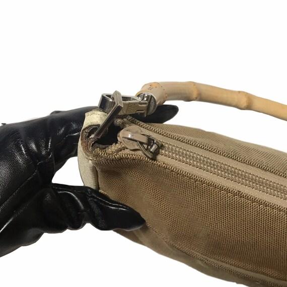 GUCCI Vintage Bamboo Handle Shoulder Bag - image 6