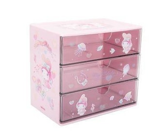 Little twin stars storage shelf or my melody drawer miniso basket organisation fairykei bedroom