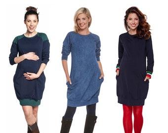 Maternity dress still dress tunic still fashion maternity fashion still shirt maternity tunic maternity shirt Large sizes model: SPORTISSIMA by be mama!