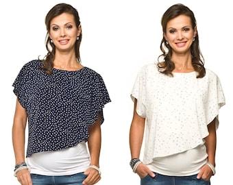 Stillshirt Maternity Shirt Maternity Fashion Stillmode Stilltop Shirt Tshirt Model: ELFI by Torelle