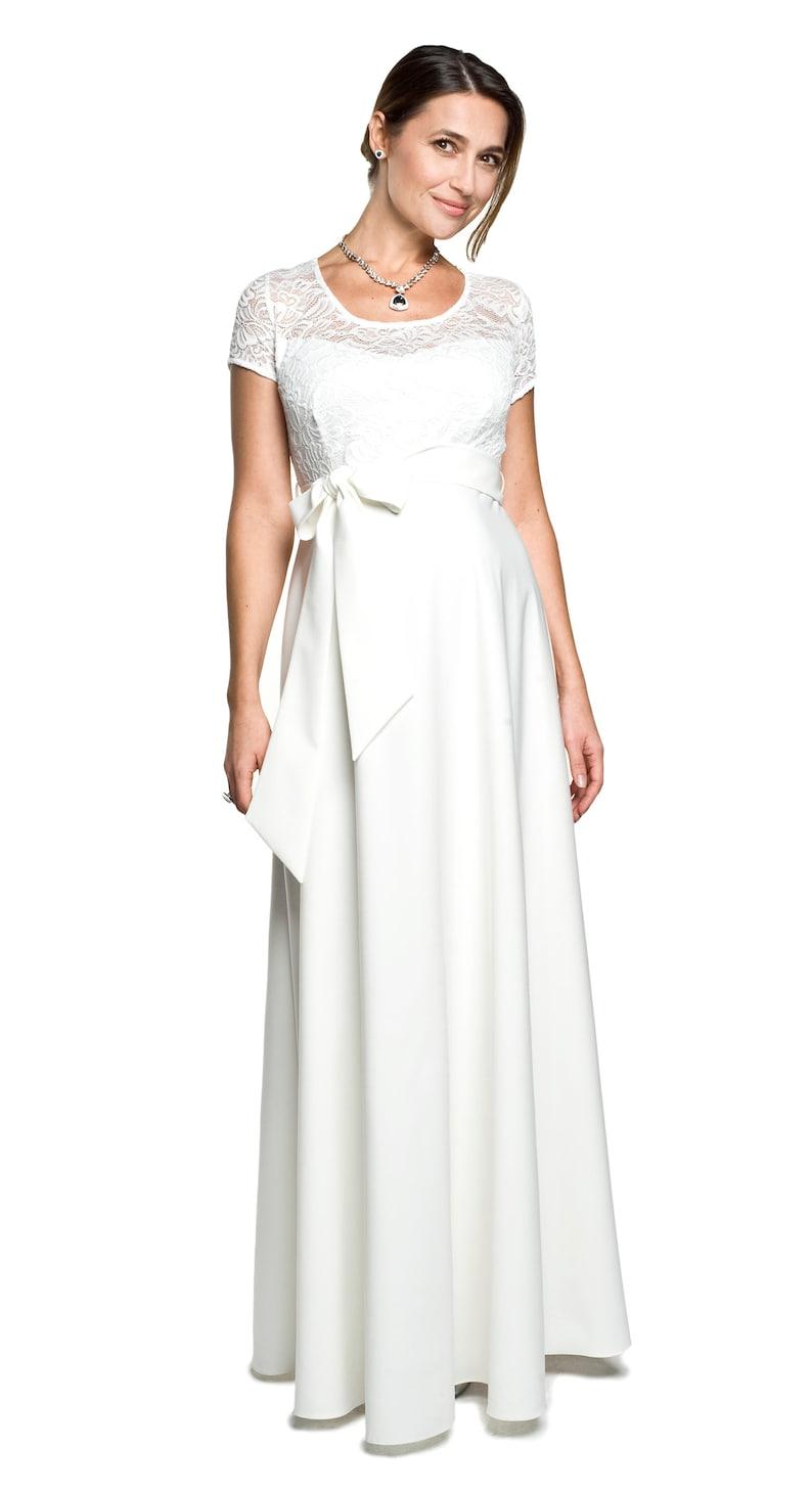 Pregnant Wedding Dress.Resium Dress Wedding Dress For Pregnant Wedding Fashion Maternity Fashion Wedding Dress Festive Dress Model Natalie By Torelle