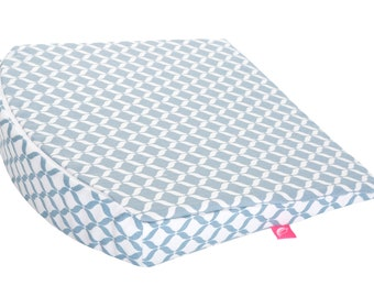 Wedge pillow small for stroller 30 x 30 cm incl. removable cover baby pillow baby wedge pillow pillow by MOTHERHOOD