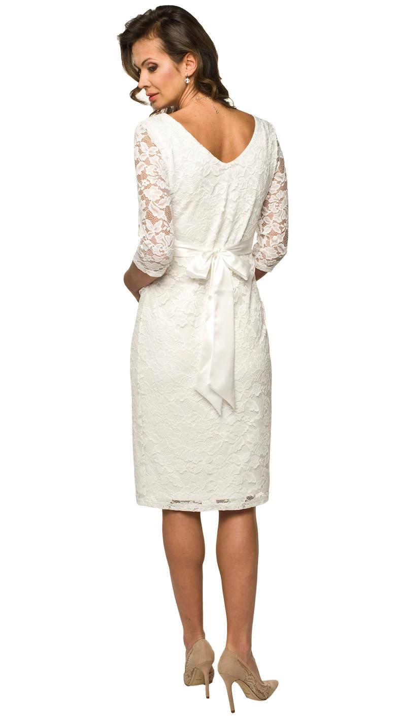 Umstandskleid Hochzeitskleid Umstandsmode Spitzenkleid | Etsy