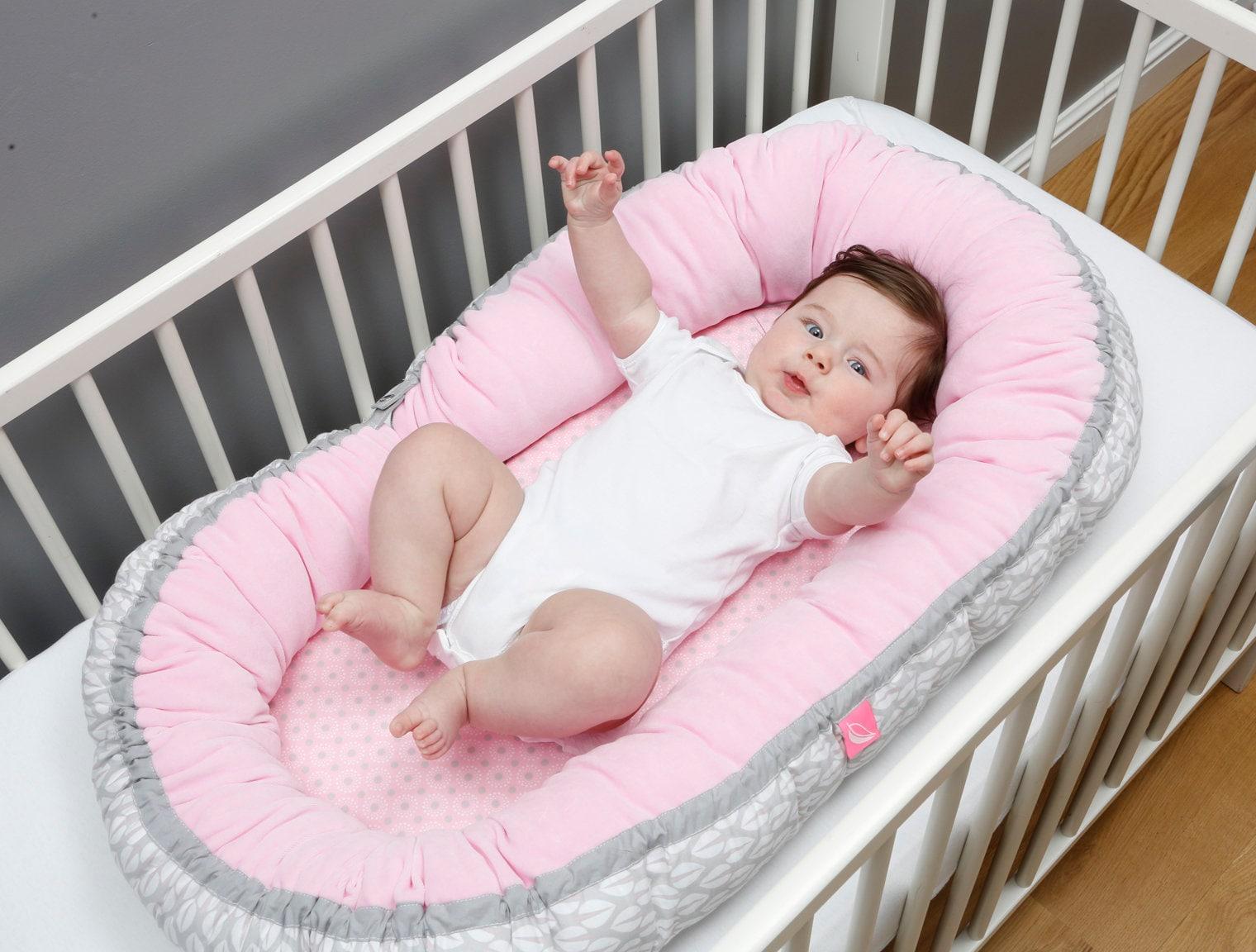 babynest nestchen kuschelnest reisebett babybett mit sleepy c etsy. Black Bedroom Furniture Sets. Home Design Ideas