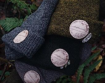 tricot bonnet - bonnet mit kristall - mütze gestrickt - fait main - boho -  bijoux en cristal - atw bijoux en cristal de e90f9f9dabf