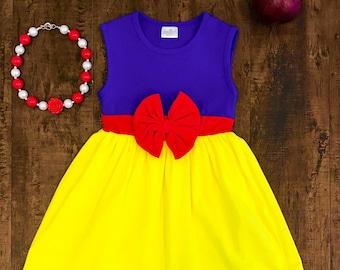 4303a253b039 Girls Snow White Dress