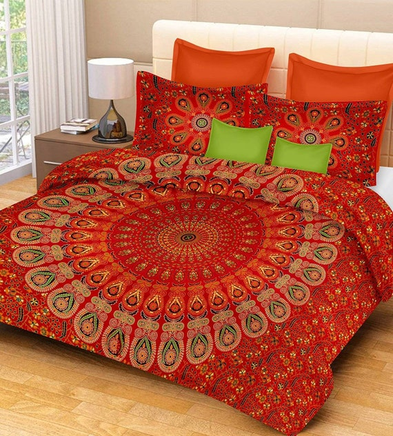 Indian paradise kantha quilt cotton handmade hobo bohemian vintage bedding bedspread decor hippie blanket throw twin size bed cover