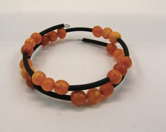 Amber Bracelet memory pearls