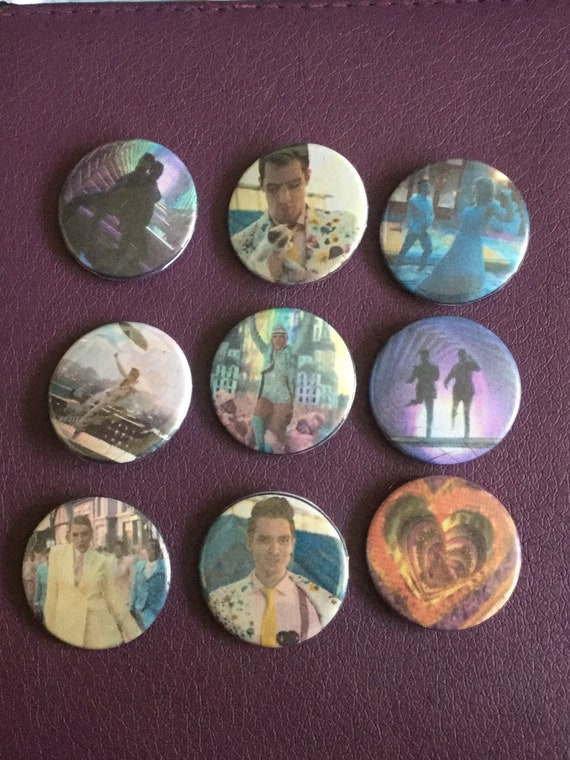 SET OF 3 TAYLOR SWIFT MUSIC BUTTON PIN BADGES