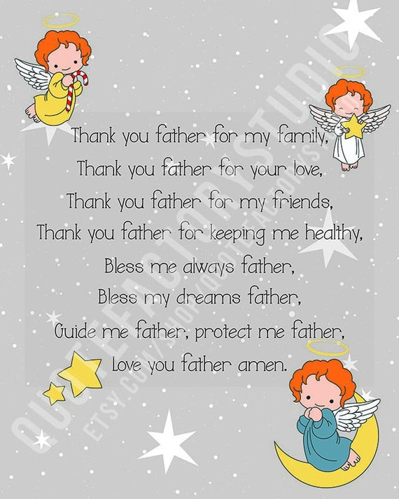 Father, God, Heaven, Kids, Quotes, Children, Inspirational, Quote,  Inspiring, Inspired, Bedtime, Wall Art, Signs, Motivational, Motivation