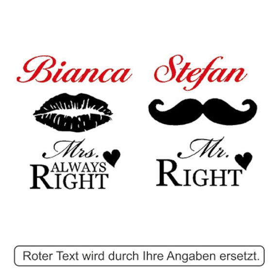 Ein Personalisiertes Weizenbierglas inkl Gravur Mr Right