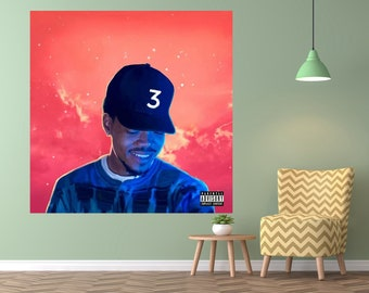 Coloring Book Chance The Rapper Cover Mission Impossible