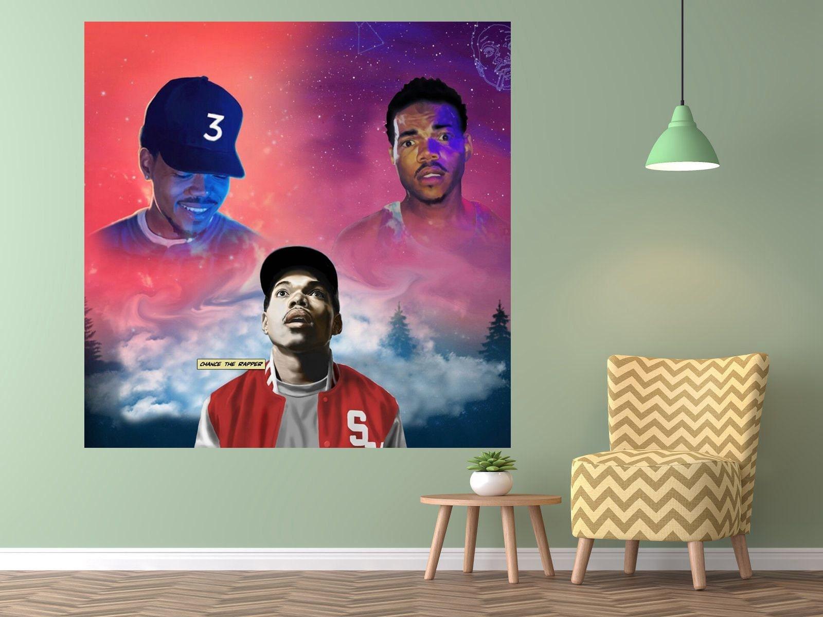 b992e4f61fc2 Chance the Rapper Acidrap 10 Day Coloring Book Poster Album