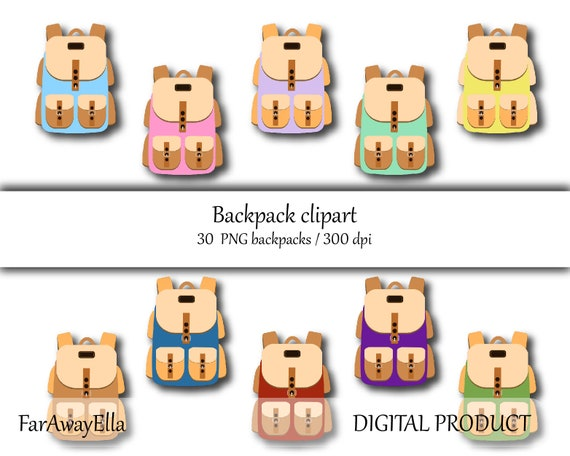 photograph relating to Printable Backpacks named Climbing backpacks clip artwork, university backpacks, fast down load, bag down load, push, back again in direction of college or university printable, PNG, backpack fixed, mountaineering