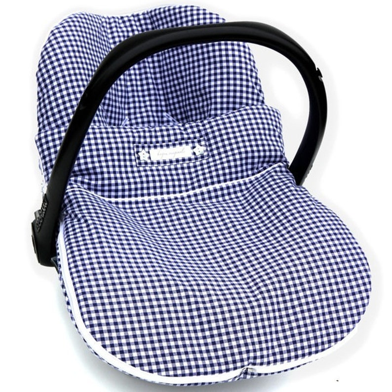Cover for maxi cosi carseat & zipped-on blanket image 0